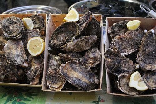 Oysters at Da Salvo, Palermo