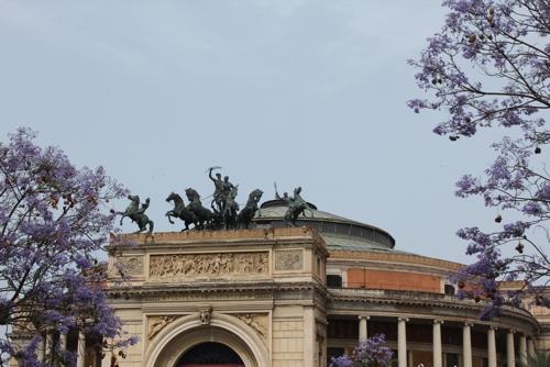 Teatro Politeama in Palermo