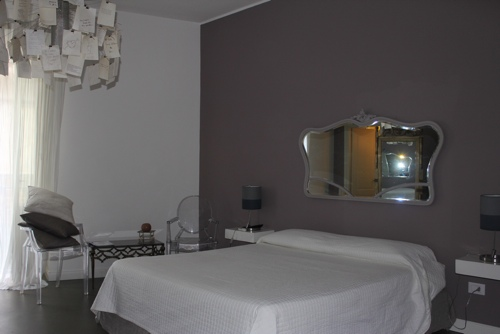 Deluxe room at BB22 in Palermo