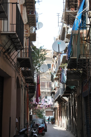 Back streets of Palermo