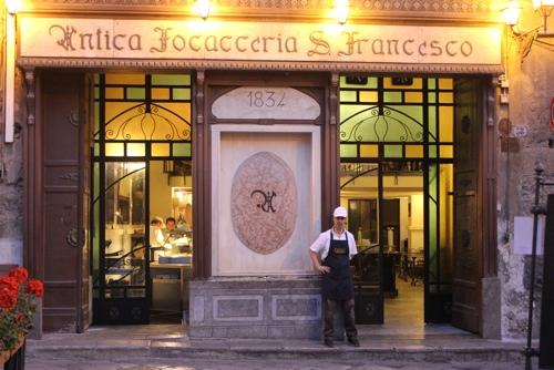 Antica Focacceria San Francesco, Palermo
