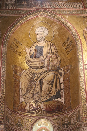 St Thomas à Becket in the Monreale Cathedral
