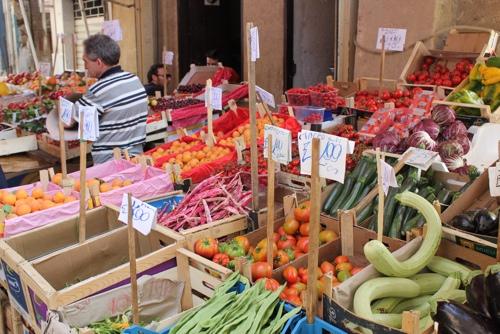 Capo Market in Palermo