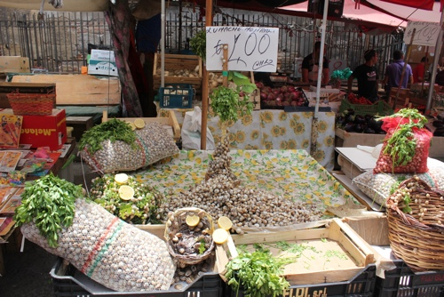 Lumache - Ballaro Market, Palermo