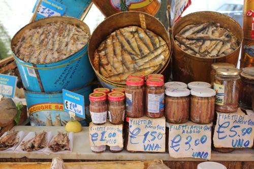Anchovies - Ballaro Market, Palermo