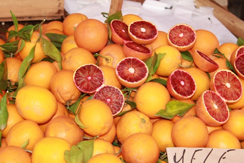 Blood oranges, Sicily