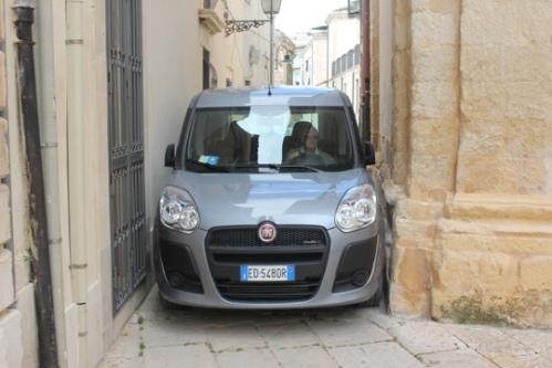 Fiat Doblo in Scicli, Sicily