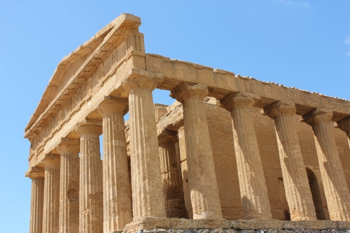 Temple at Agrigento, Sicily