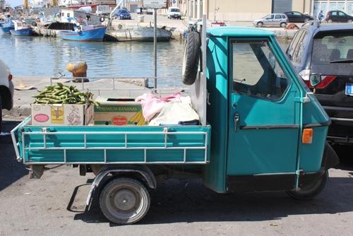 Apè in Mazzara, Sicily