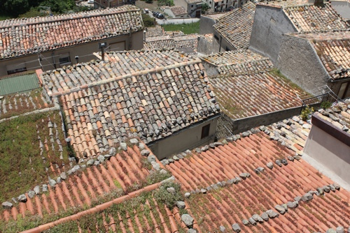 Roof tops in Sicily