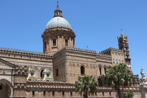 Another view of the Cathedral of Palermo
