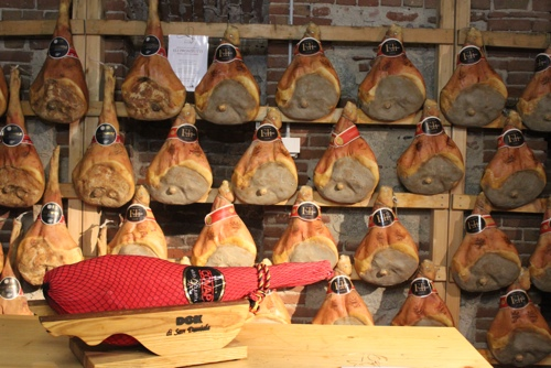 Prosciutto at Eataly, Turin