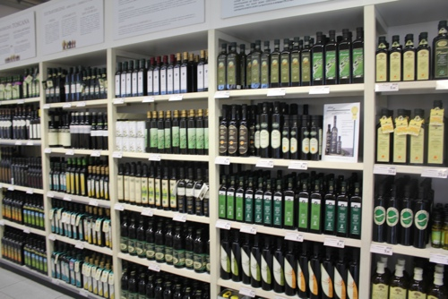 Extra Virgin Oils at Eataly, Turin