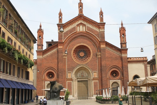 Church of the Santa Maria del Carmine in Milan