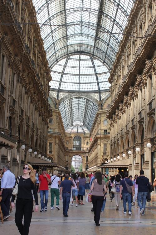 Galleria Vittoria Emanuele, Milan