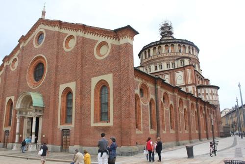 Church of Santa Maria delle Grazie in Milan