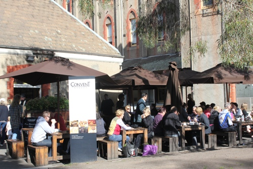 The Convent Bakery at the Abbotsford Convent Market in Melbourne