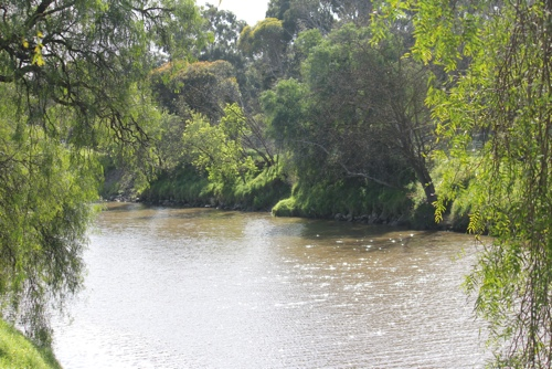 The Yarra River, Melbourne