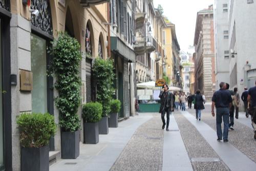 Via Fiori Chiari in Milan