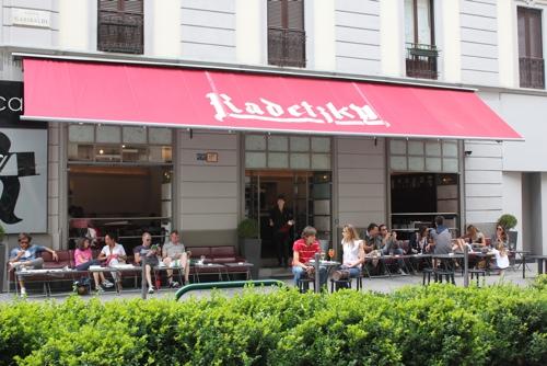 Radetzky Caffe in Milan
