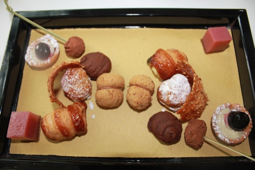 Piccola pasticceria at All'Enoteca in Canale
