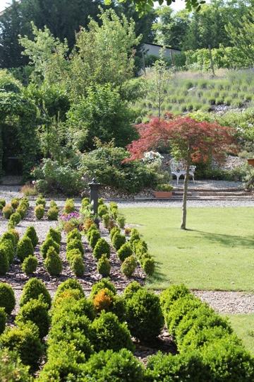 Garden at La Villa Hotel, Mombaruzzo