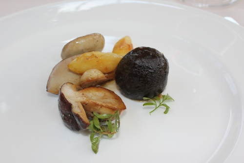 Porcini mushrooms at Antica Corona Reale in Cervere,