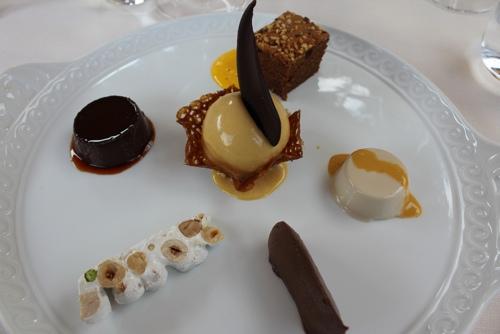 Sentieri di Langhe Dessert at Antica Corona Reale in Cervere,