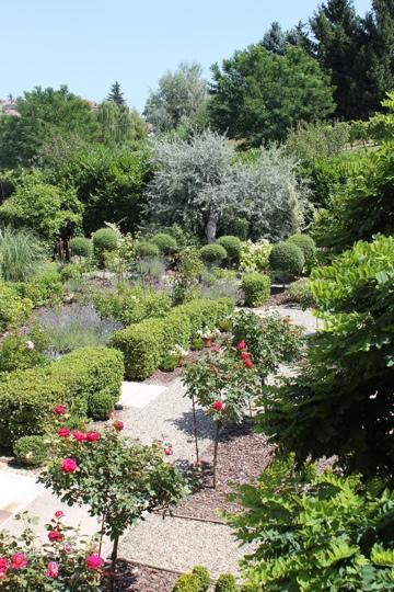 Gardens at La Villa Hotel, Mombaruzzo
