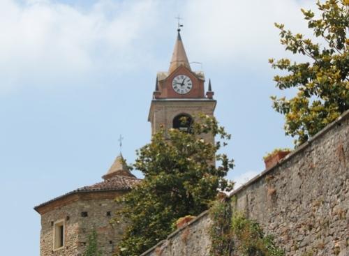 Bell Tower in Monforte d'Alba