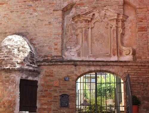 Entrance to Azienda Agricola Alessandro e Gian Fantino's Cantina in Monforte