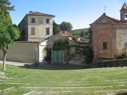 Monforte d'Alba's outdoor auditorium