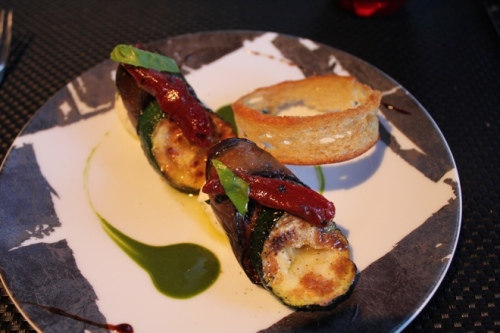 L'Aubergine at L' Atelier de Joel Robuchon in Paris