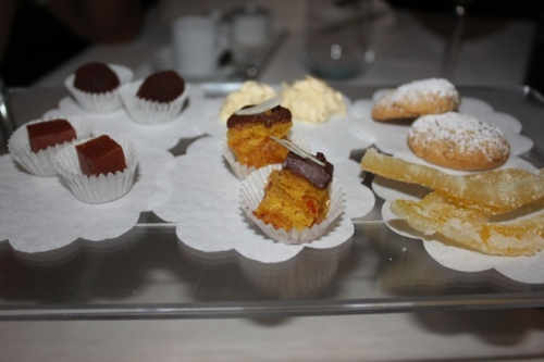 Petit Fours at Il Cascinalenuovo in Isola d'Asti