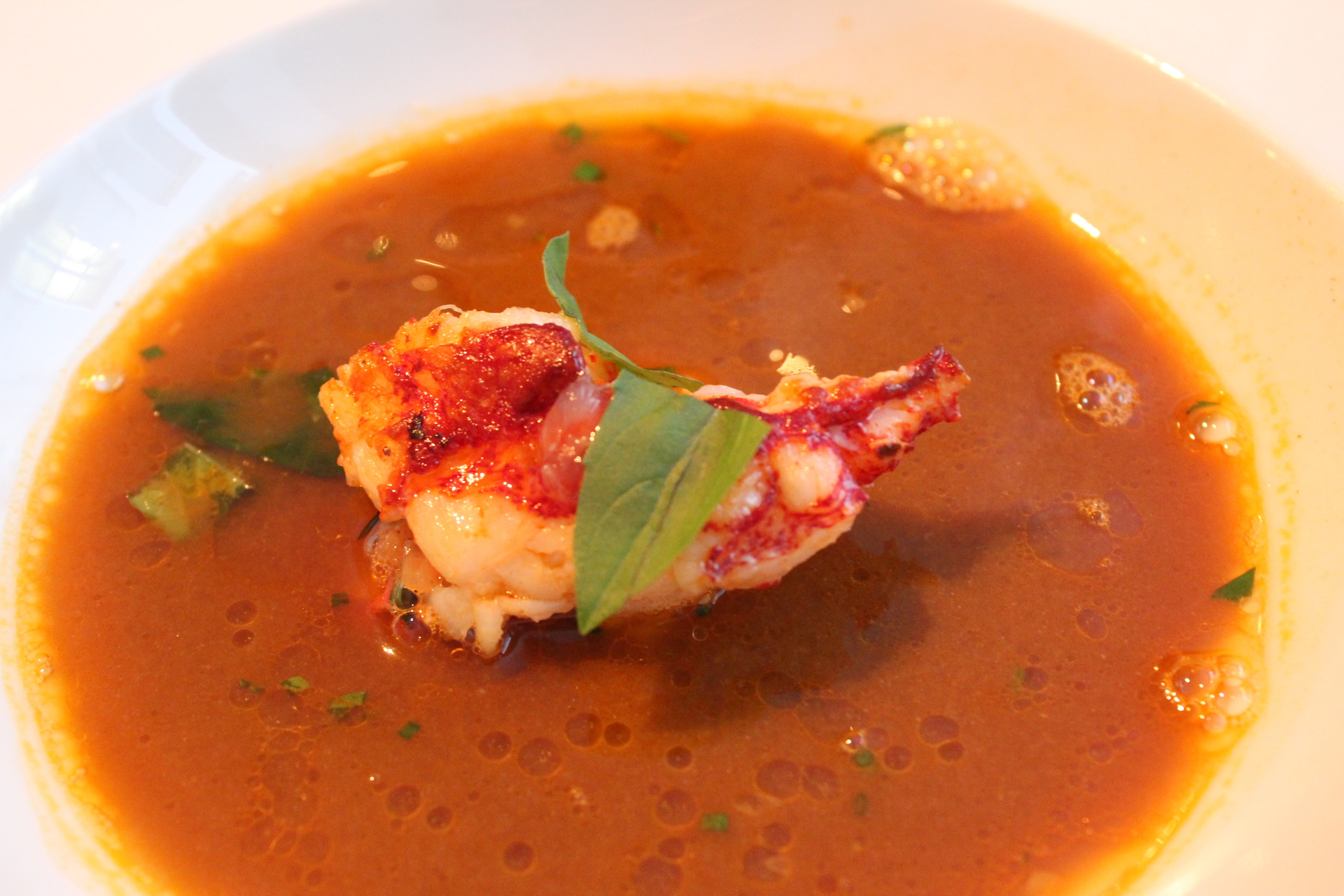 Lobster B Soup Eating in the 1...