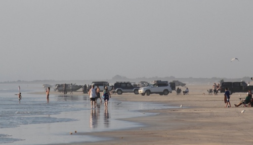 Cars on Cable Beach