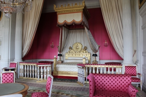 Empress' Bed Chamber at the Grand Trianon, Versailles