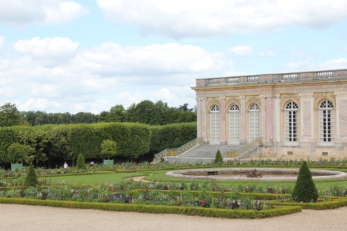 View to the Garden Room from the walkway at the Grand Trianon, Versaille