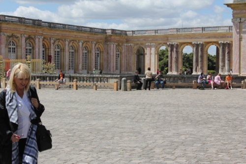 Outside the Grand Trianon, Versaille