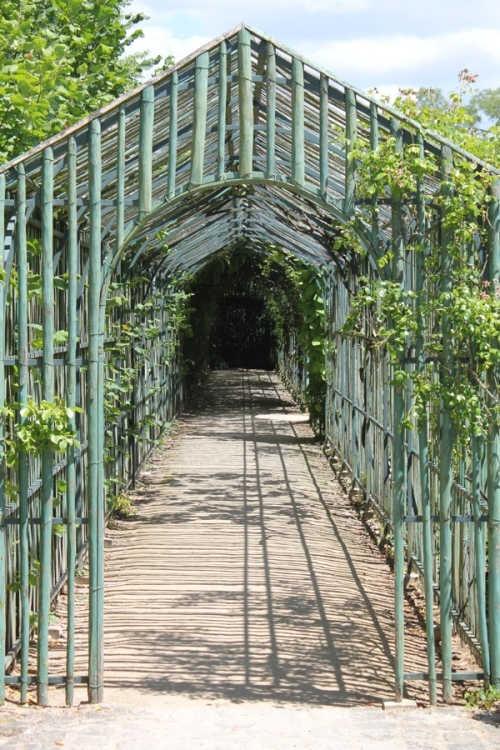 Arbour in the Grand Trianon Gardens, Versaille
