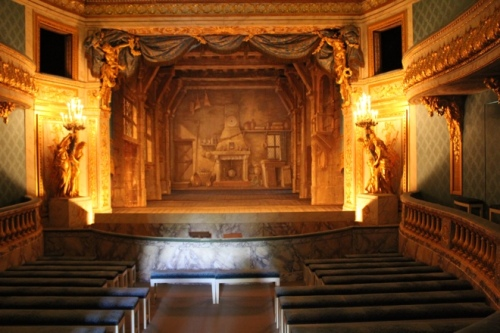 Another view of Marie Antoinette's Theatre