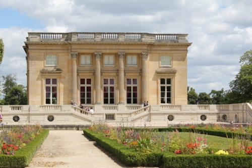 View of Petit Trianon facing the French Garden