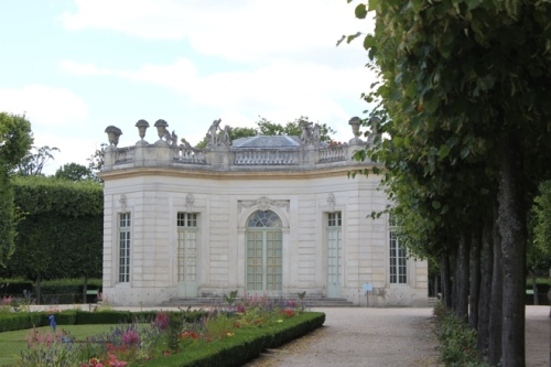The French Pavillion in the gardens of the Petit Trianon