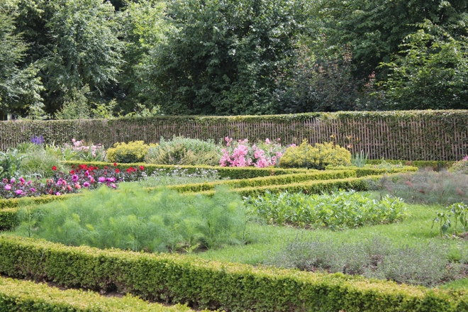 The vegetable garden at the Queen's Hamlet, Versailles
