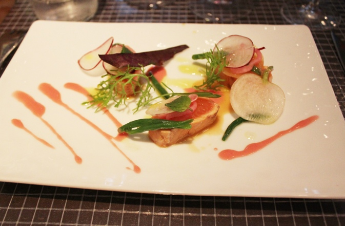 Art on a plate at ze kitchen galerie a taste of travel for Ze kitchen galerie menu
