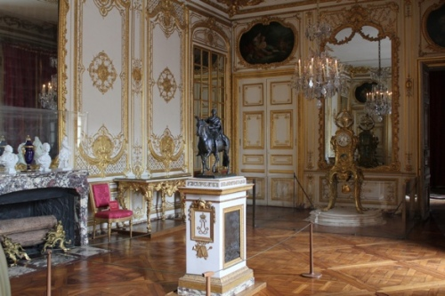 The clock room at the Palace of Versailles