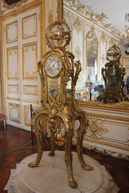 Louis XV clock at the Palace of Versailles