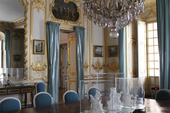 This Is Versailles The Porcelain Dining Room