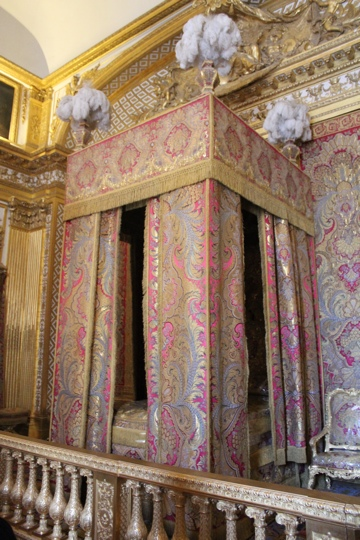 The King's bedroom at the Palace of Versailles