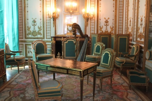 Marie Antoinette's private sitting room at Versailles